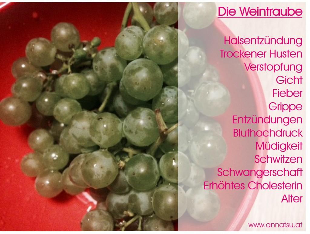Weintraube - TCM Ernährungsberatung - Shiatsu - Anna