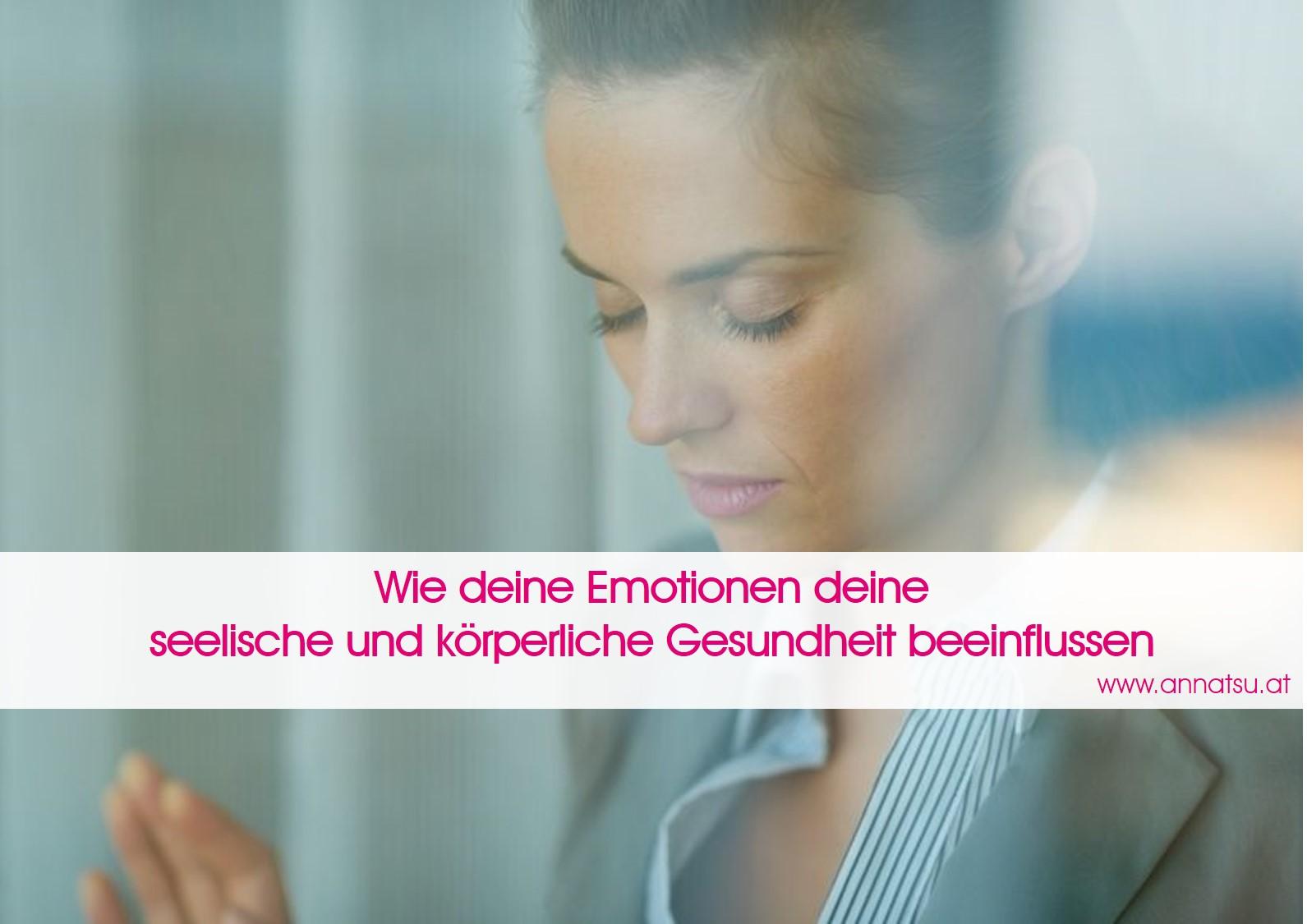 Emotionen - TCM Ernährungsberatung - Shiatsu - Anna Reschreiter
