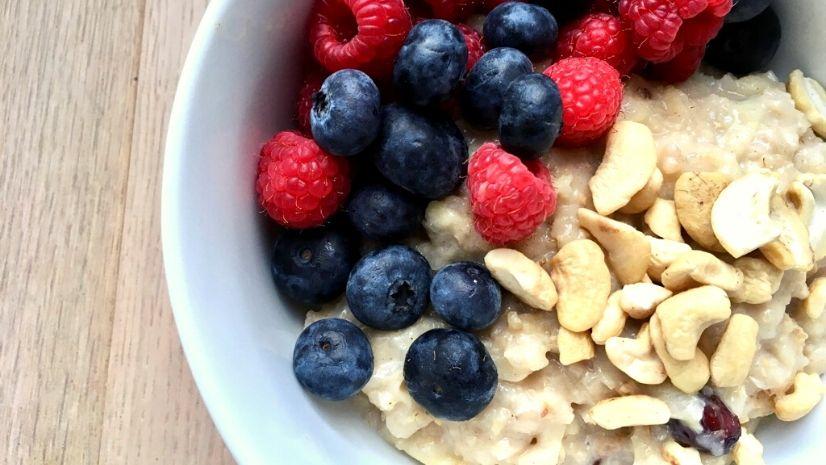 TCM Rezept Haferflocken Porridge Blog