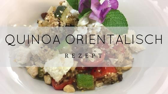 Rezept Quinoa orientalisch - TCM Ernährung - TCM Ernährungsberatung Wien - Anna Reschreiter
