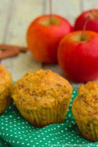 Rezept Vollkorn-Apfel-Walnuss-Muffin - TCM Ernährung - TCM Ernährungsberatung Wien - Anna Reschreiter