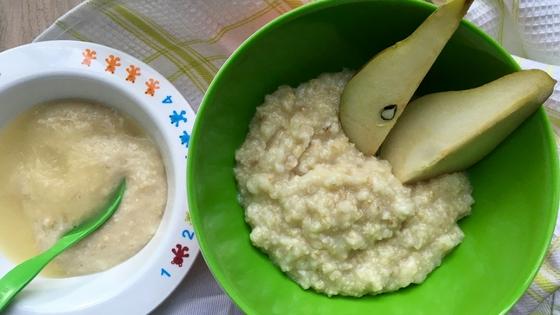 Warmes Frühstück für Mama und Baby - Porridge - TCM Ernährung - 5 Elemente Küche - TCM Ernährungsberatung Wien - Anna Reschreiter