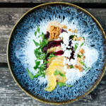 Rezept - Rote Rüben Carpaccio mit Orangen und Orangen-Senf-Honig-Dressing - TCM Ernährung - 5 Elemente Küche - TCM Ernährungsberatung Wien - Anna Reschreiter