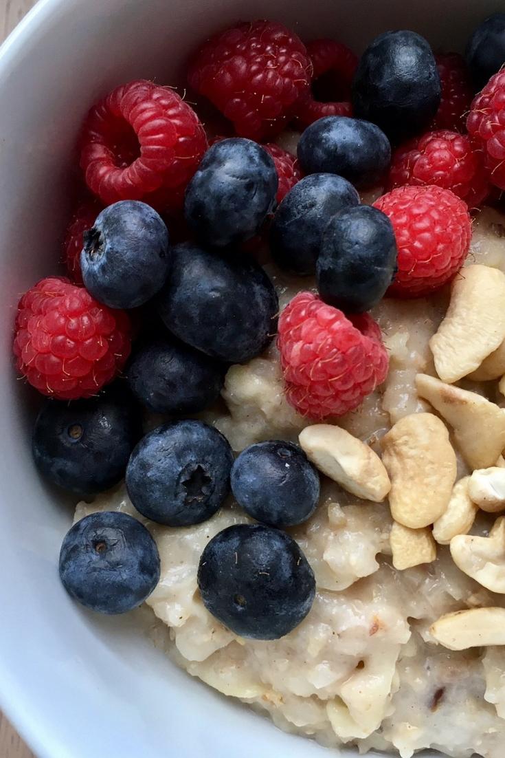 Porridge - TCM Ernährung - 5 Elemente Küche - TCM Ernährungsberatung Wien - Anna Reschreiter