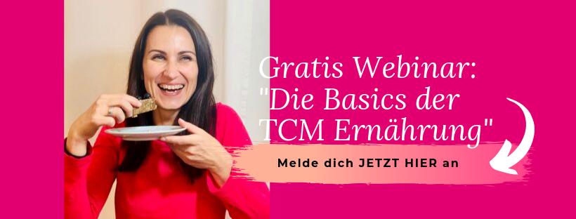 Gratis Webinar - Die Basics der TCM Ernährung - 5 Elemente - Yin und Yang - Ernährungsumstellung - Anna Reschreiter - annatsu