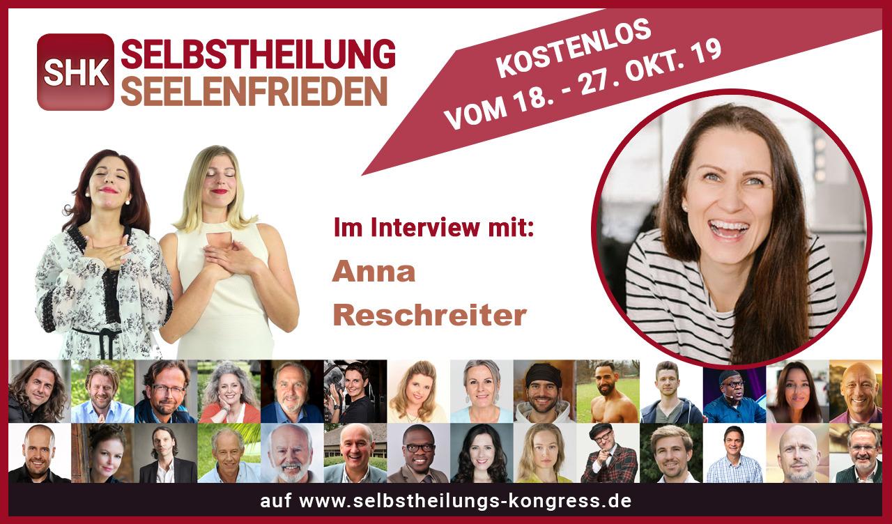 Selbstheilungs und Seelenfrieden Online Kongress - TCM und Emotionen - TCM Ernährung - 5 Elemente Ernährung - Anna Reschreiter - annatsu