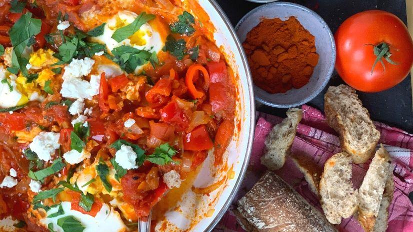 Rezept Shakshuka aus der TCM - Shakshuka - TCM Ernährung - 5 Elemente - Anna Reschreiter - annatsu